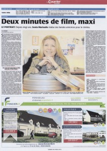 LE COURRIER DE L'OUEST - APRIL 2014